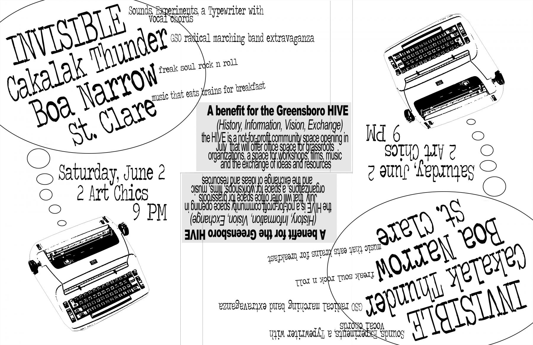 Show Flier, June 2007