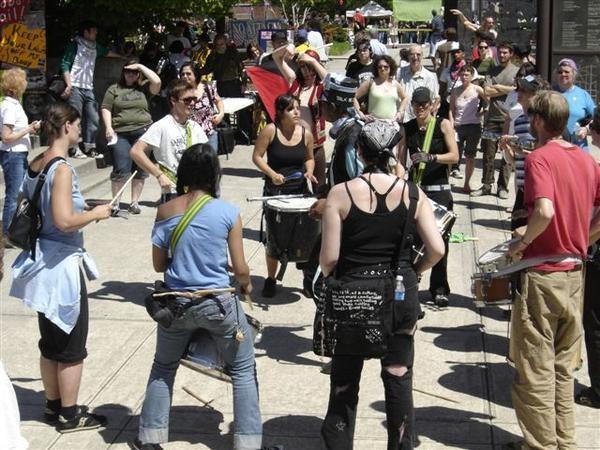 Anti-War Fair, Greensboro, 2007