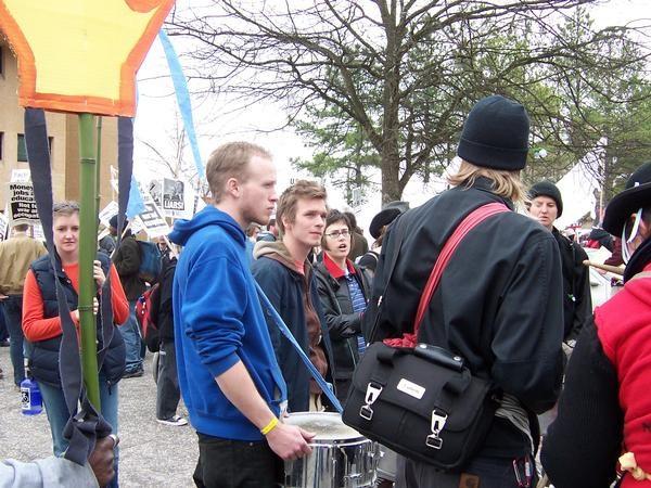 Anti-War March , Fayetteville, 2006